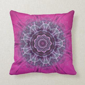 Razzle Dazzle Pink Throw Pillows