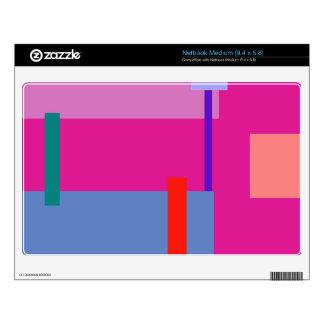 Razzle dazzle Rose Skin For Medium Netbook