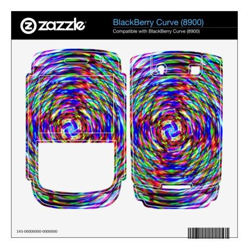 Razzle deslumbra BlackBerry curve skin