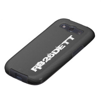 RB26DETT on faux carbon fiber Galaxy S3 Cover