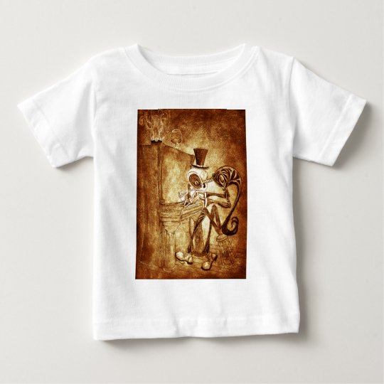 RB the piano player Baby T-Shirt