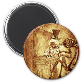 RB the piano player Magnet