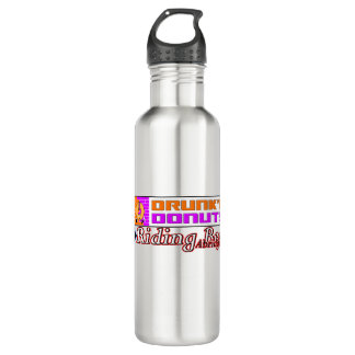 RBA Drunk'n Donuts Stainless Steel 24oz 2Go Bottle