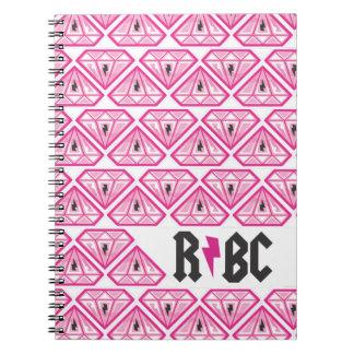 rbc diamonds spiral note book