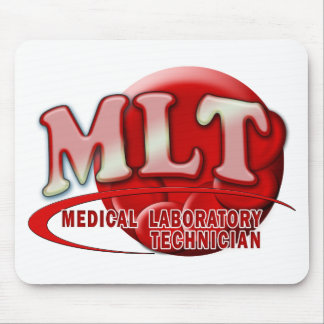 RBC MLT LABORATORY SWOOSH LOGO - MED LAB TECH MOUSE PAD