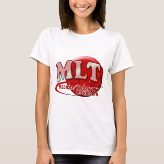 RBC MLT LABORATORY SWOOSH LOGO - MED LAB TECH T-Shirt