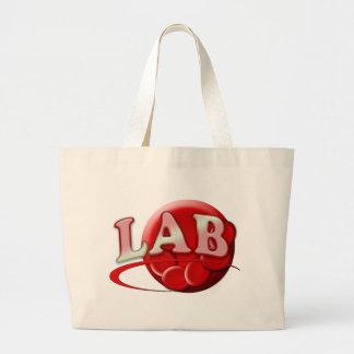 RBC MLT LABORATORY SWOOSH LOGO - MEDICAL CLINICAL TOTE BAGS