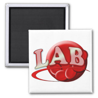 RBC MLT LABORATORY SWOOSH LOGO - MEDICAL CLINICAL MAGNET