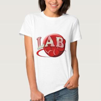 RBC MLT LABORATORY SWOOSH LOGO - MEDICAL CLINICAL T-Shirt