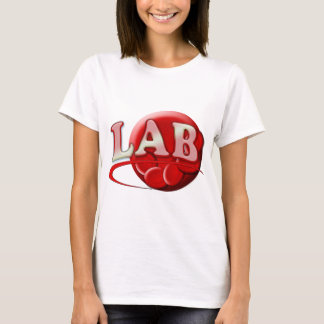 RBC MLT LABORATORY SWOOSH LOGO - MEDICAL CLINICAL T-Shirt