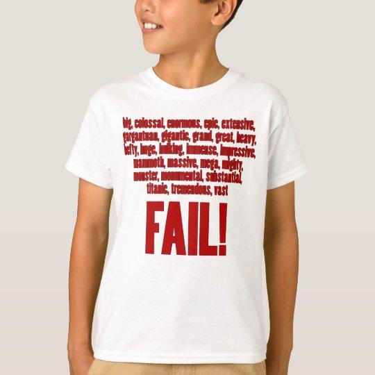 RBF Red, Black Outline T-Shirt