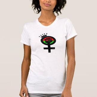 RBG Female Queen Fist logo T Shirt