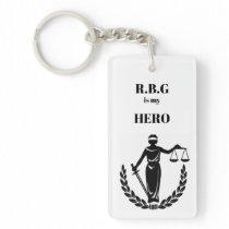 RBG is my Hero Keychain