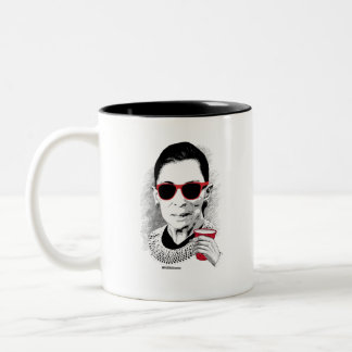 RBG Party Animal Two-Tone Coffee Mug