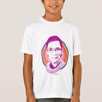 RBG Rainbow Justice Purple T-Shirt