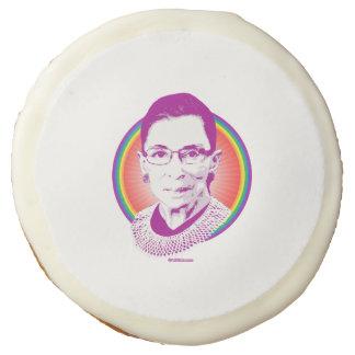RBG Rainbow Justice Purple Sugar Cookie