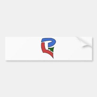 RBGLPG_Crest Car Bumper Sticker