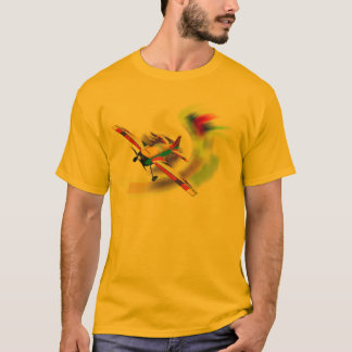 RC AERO SPORT PLANE ON WAVE T-Shirt