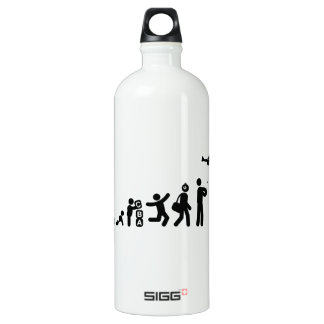 RC Airplane Aluminum Water Bottle
