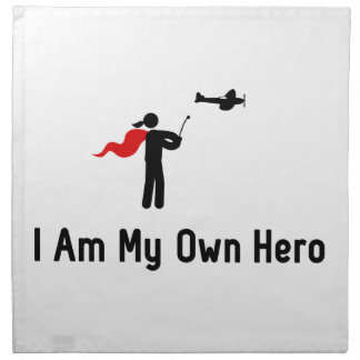 RC Airplane Hero Napkin