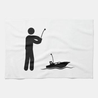 RC Boat Towel