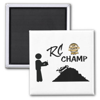 RC First Place Champ Magnet