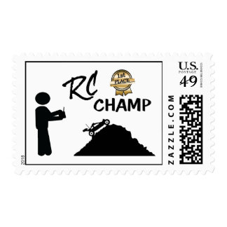 RC First Place Champ Postage