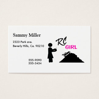 RC Girl Business Card