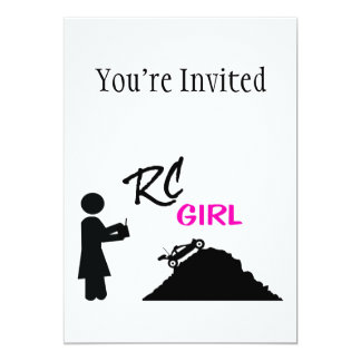 RC Girl Card