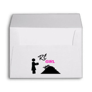 RC Girl Envelope