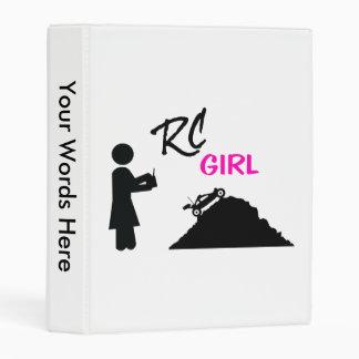 RC Girl Mini Binder