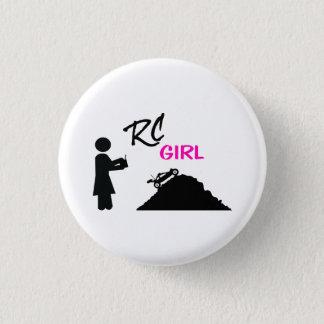RC Girl Pinback Button