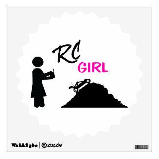 RC Girl Wall Sticker