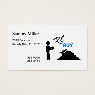 RC Guy Business Card