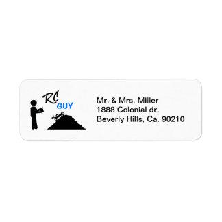 RC Guy Label