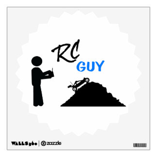 RC Guy Wall Decal