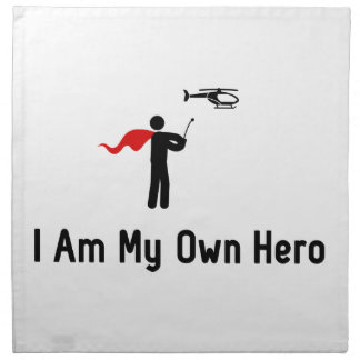 RC Helicopter Hero Cloth Napkin