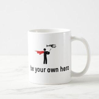 RC Helicopter Hero Coffee Mug