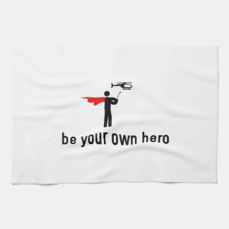 RC Helicopter Hero Towel