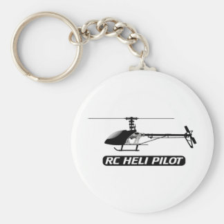 RC Helicopter Pilot Keychain