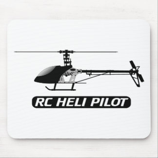 RC Helicopter Pilot Mouse Pad