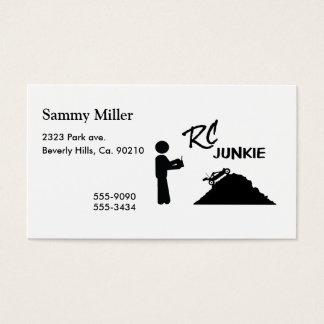 RC Junkie Business Card