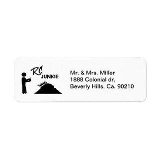 RC Junkie Label