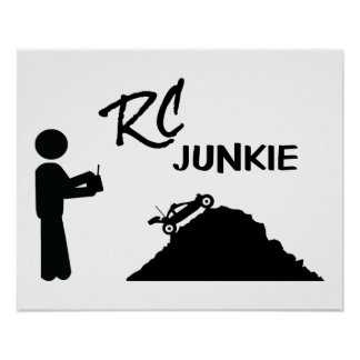 RC Junkie Poster