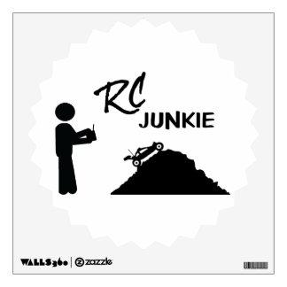 RC Junkie Wall Sticker