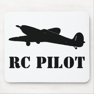 RC Pilot Mouse Pad