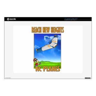 "RC Plane Zephyr.png 15"" Laptop Skin"