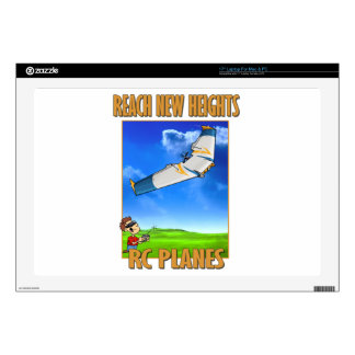 RC Plane Zephyr.png Decal For Laptop