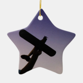 RC REMOTER CONTROL AIRPLANE CHRISTMAS ORNAMENT