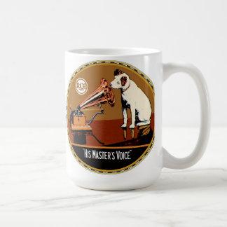 RCA his masters voice sign Coffee Mug